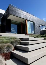 scored modern concrete driveways google search handrails