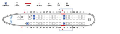 United Domestic Baggage Fees Embraer 145 Er4 Erj United Airlines