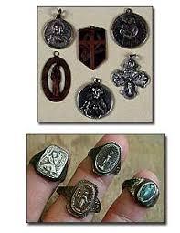 religious rings vintage silver religious medals and rings religious medals