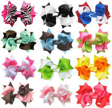 girl hair bows girl s bows and baby flower crochet headbands from 93 each