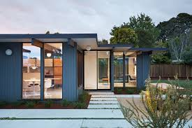 eichler style home klopf architecture gave this eichler house an extension and a