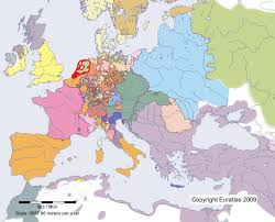 netherlands location in europe map euratlas periodis web map of netherlands in year 1600