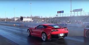 fastest c7 corvette chevrolet c7 z06 sets 1 4 mile record gm authority