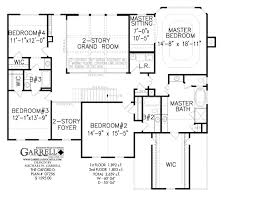 5 Bedroom Floor Plans 1 Story by Oxford D House Plan Colonial House Plans