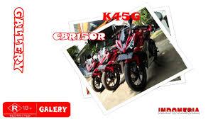 cbr 15or gallery foto cbr 150 r k45g facelift indonesia oeji u0027e channel
