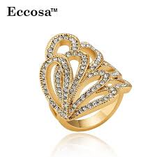 big rings design images Eccosa latest gold ring designs big ring friendship band for girls jpg