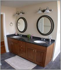 Oval Bathroom Mirrors Brushed Nickel Architecture Oval Bathroom Mirrors Telano Info