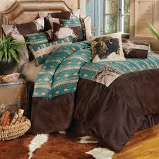 Lone Star Home Decor by Bedding Brown And Turquoise Western Bedding With Rustic Western