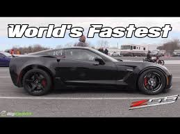 fastest production corvette made fastest c7 z06 corvette in the