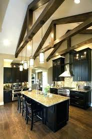 vaulted kitchen ceiling ideas cathedral ceiling kitchen lighting for vaulted kitchen ceiling best
