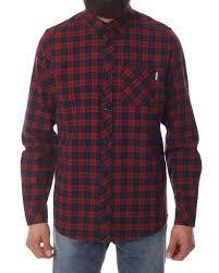 designer hemden mã nner carhartt l s shawn shirt rot hemden inflammable