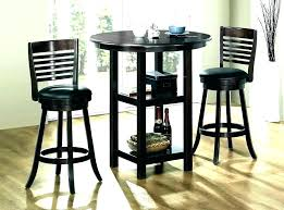 tall round dining table set tall round dining table set kerch me