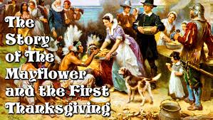 the story of the mayflower and the thanksgiving for children