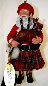 thistle ornaments blown glass ornaments scottish