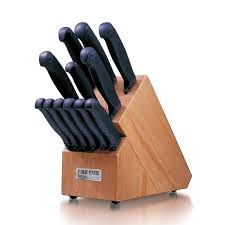 what is a set of kitchen knives steel kitchen classic 13 knife block set