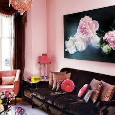 Pink Living Room Ideas Pale Pink Living Room And Chocolate Brown Http Home Furniture