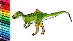 drawing and coloring dinosaur learn to draw dinosaurs color