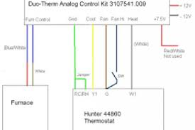 hunter thermostat 44665 wiring diagram wiring diagram