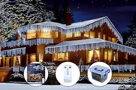 led icicle christmas lights outdoor outdoor christmas icicle fairy lights 720 or 960 led