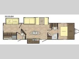 Sunset Trail Rv Floor Plans Crossroads Sunset Trail Super Lite Ss331bh New U0026 Used Rvs For