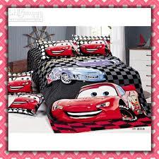 Mickey Mouse Toddler Duvet Set Cars Cartoon Cotton Children Bedding Set Kid Nursery Bedding Boy