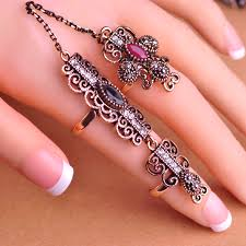beautiful jewelry rings images Newest design turkish exquisite mid rings fashion vintage turkish jpg