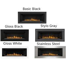 napoleon linear 45 inch built in direct vent propane gas fireplace