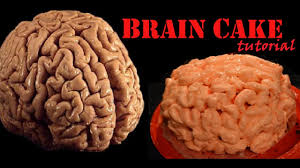 Gross Cakes For Halloween by Halloween Creepy Gross Brain Cake Tutorial Youtube
