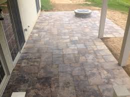 Travertine Patio Travertine Patio Project C E Pontz Sons Landscape Contractors