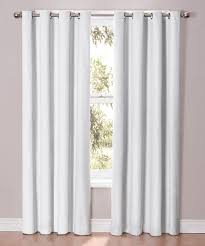 White Darkening Curtains Endearing White Darkening Curtains Inspiration With Simple Living