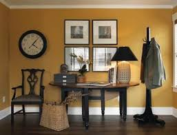 benjamin moore bryant gold is a lovely deep yellow that is warm