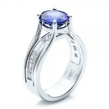 oval sapphire engagement rings custom oval blue sapphire engagement ring 100039