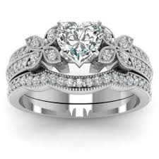 heart shaped wedding rings heart engagement rings for less overstock