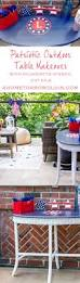 patriotic table makeover a home to grow old in