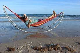 folding beach hammock portable foldable aluminum hammock stand
