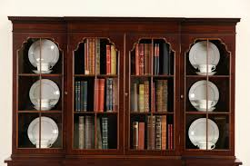 Narrow Mahogany Bookcase by China Cabinet Rk321 1l Magnificent China Cabinet Bookcase Photos