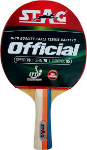 Table Tennis Racket Stag Official Table Tennis Racquet Buy Stag Official Table