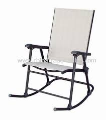 Patio Sling Chair Promotional Patio Sling Folding Rocking Chair Patio Sling