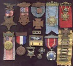 army medals ribbons order of precedence chart