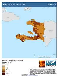 Haiti Map Map Gallery Sedac