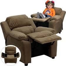 Armchair With Storage Chairs Living Room Furniture The Home Depot