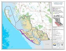Victoria Bc Map Fire Ban U0026 Restrictions Vancouver Island Ocean 98 5
