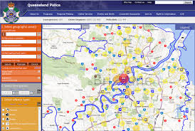 Crime Maps All Things Spatial Mapping Crime In Queensland