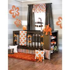 Orange Crib Bedding Check Out The Sweet Potato Echo 4 Crib Set From Babyage
