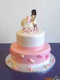 pregnant lady and stroller cake cmny cakes