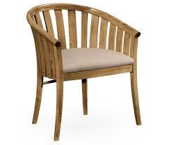 oak tub chair