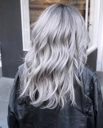 silver hair icy silver hair transformation is the 2018 s coolest trend hair