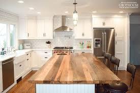 kitchen island wood countertop elegant kitchen island with wood countertop reclaimed chestnut 4