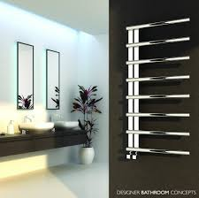 designer heated towel rails for bathrooms new in best electric