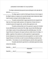 installment plan agreement template payment contract template cool free sample daycare forms home